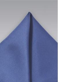 Kravatte Streifen ultramarinblau Wolle