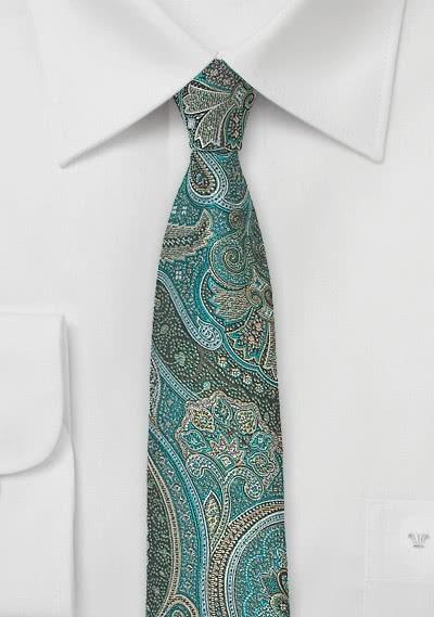 Modische Krawatte rose Kunstfaser