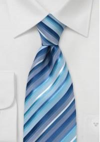 XXL-Krawatte navyblau strukturiert