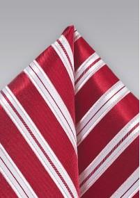 Krawatte Streifen-Pattern hellblau marineblau