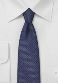 Einfarbige Krawatte dunkles bordeaux