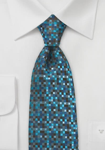 Einfarbige Krawatte klassisch rot