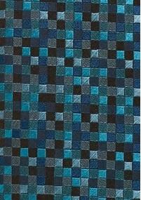 Krawatte Anker-Muster dunkelblau