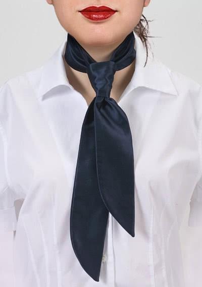 Krawatte unifarben altweiß