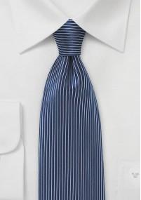 Krawatte Wolle Linien edelgrün