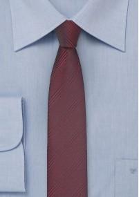 Paisley-Krawatte Wolle rot