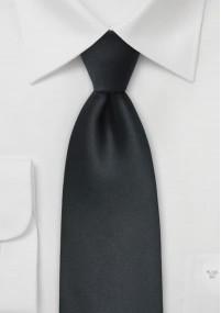 Streifen-Krawatte navyblau mit Wolle