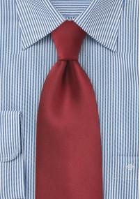 Streifen-Krawatte weinrot mit Wolle
