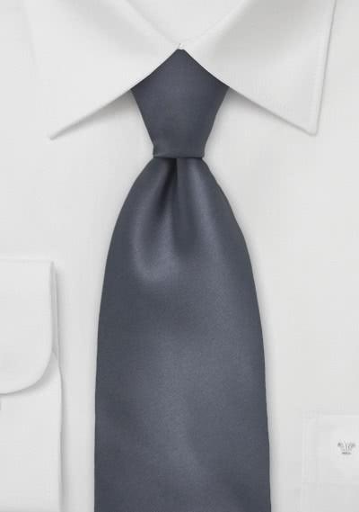 Mikrofaser-Sicherheits-Krawatte monochrom grün
