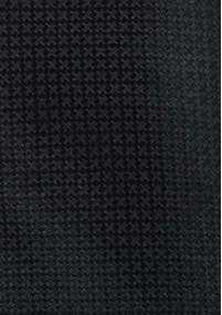 Clip-Krawatte navyblau strukturiert