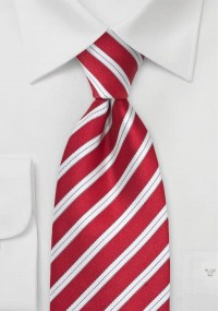 Krawatte Struktur uni silbergrau