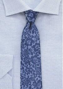 Krawatte goldgelb navy Streifendessin