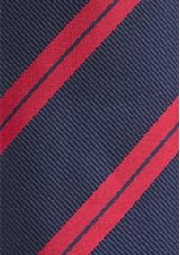 Karo-Muster-Krawatte schlank blau perlweiß