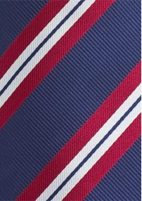 Krawatte Jungens Pünktchen hellblau