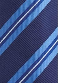 Krawatte Kinder einfarbig navy