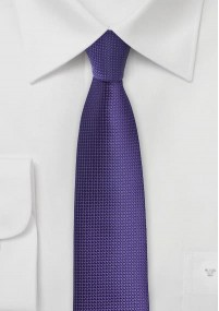 Krawatte elegantes Linien-Dekor navyblau