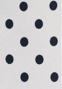 Schmale Mikrofaser-Krawatte blau