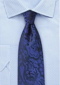Krawatte tomatenrot einfarbig