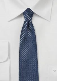Herrenkrawatte Streifendesign königsblau...