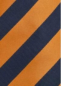 Clip-Krawatte einfarbig sonnengelb
