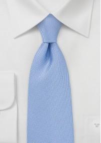 Krawatte faux-uni stahlblau