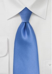 Herrenkrawatte Streifendessin unifarben blau