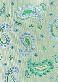Krawatte gerippte Struktur pastellgelb