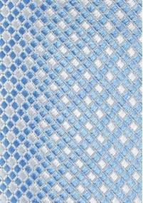 Violette schmale  Krawatte florales Motiv