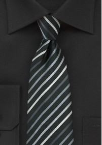 Krawatte dichtes Glencheckmuster sandfarben