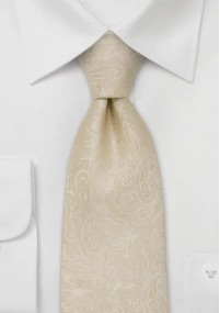 Krawatte capuccinobraun Waffel-Dessin