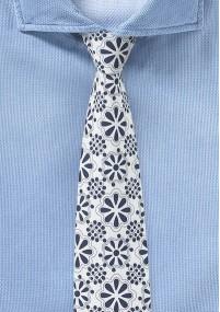 Herrenkrawatte strukturiert signalgrün