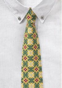 Krawatte weiß Streifen