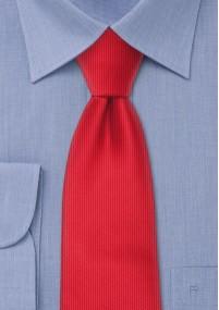 Krawattenschal kirschrot Paisley-Motiv