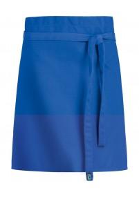 Weiße Krawatte blaue Streifen
