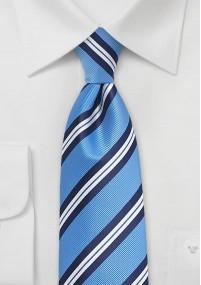 Bologna Krawatte türkis/weiß