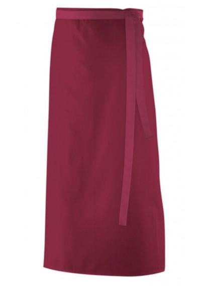 Krawatte Ranken-Dekor kirschrot