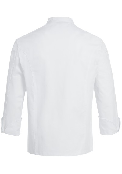 Krawatte gestreift weiß champagner