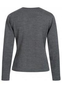 Streifen-Krawatte strukturiert schneeweiß...