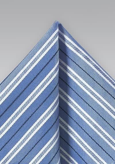Herrenkrawatte Streifendesign breit grün perlweiß