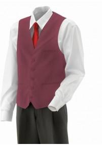 Krawatte Streifenstruktur rot weiß