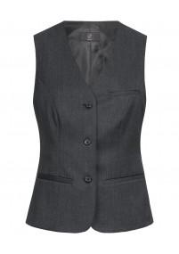 Clip-Krawatte  zierlich texturiert navyblau