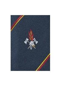 Krawatte in schwarz mit Clip