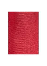 Klassische Regiments-Krawatte in Karminrot