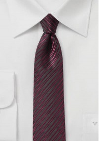 Krawatte geblümtes Pattern flaschengrün