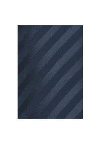 XXL-Krawatte anthrazit einfarbig gestreift