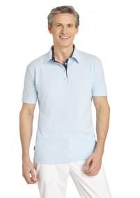 Ranken-Pattern-Krawatte himmelblau gelb