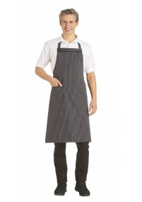 Krawatte Business-Streifendessin blau