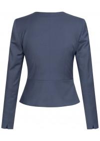 Krawatte Punkte-Kästchen dunkelblau