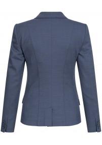 Businesskrawatte Überlänge hellblau weiß