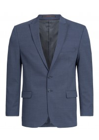 Stylische Krawatte Linienkaro marineblau